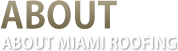 About Miami Roofing Professionals